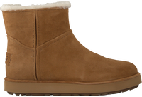 Brown UGG Fur boots CLASSIC MINI BLVD  - medium