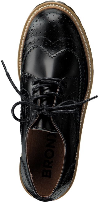 Black BRONX Lace-ups 65336 - large