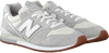 Grey NEW BALANCE Low sneakers CM996  - small
