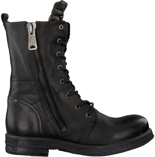 Black REPLAY Biker boots RL260016L EVY - large