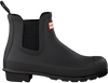 Black HUNTER Rain boots ORIGINAL CHELSEA - small