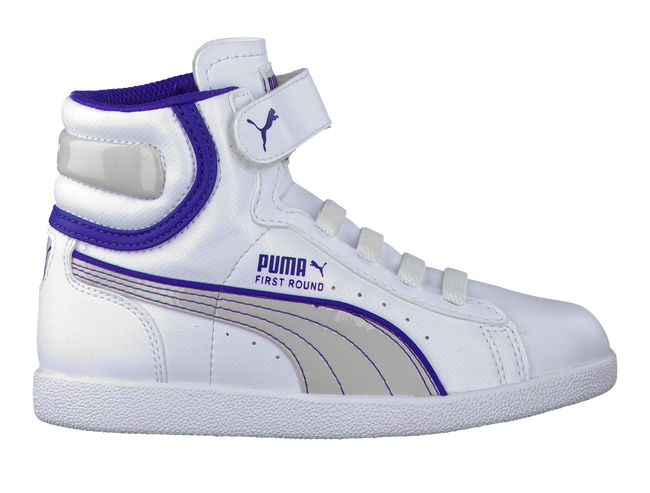 White PUMA Sneakers 355115 - large