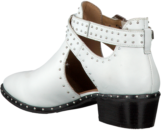 White BRONX Booties BTEX-CHUNKY - large