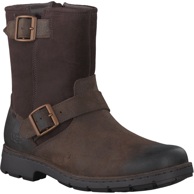 Brown UGG Ankle boots MESSNER - large