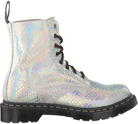 White DR MARTENS Lace-up boots 1460 PASCAL  - medium