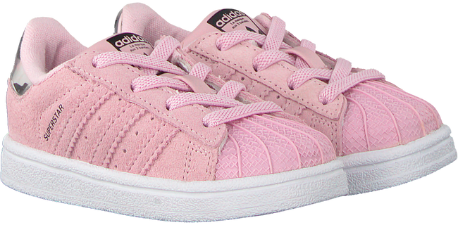 Pink ADIDAS Sneakers SUPERSTAR I - large