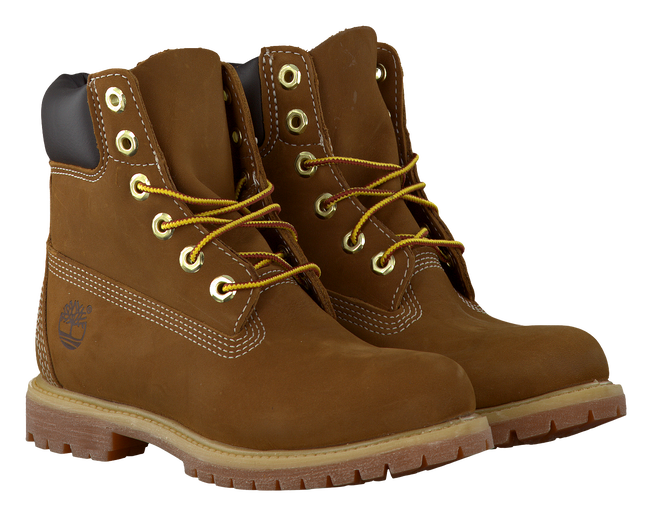 Brown TIMBERLAND Ankle boots 6IN PREM RUST - large