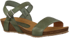 Green RED RAG Sandals 79198  - small