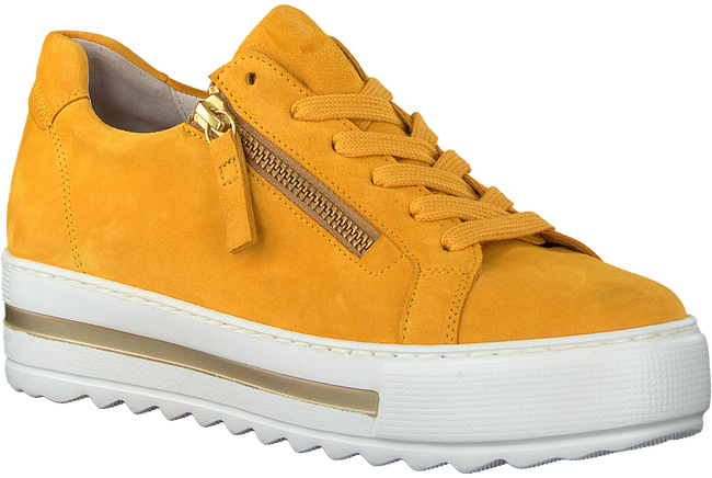 Yellow GABOR Low sneakers 498  - large