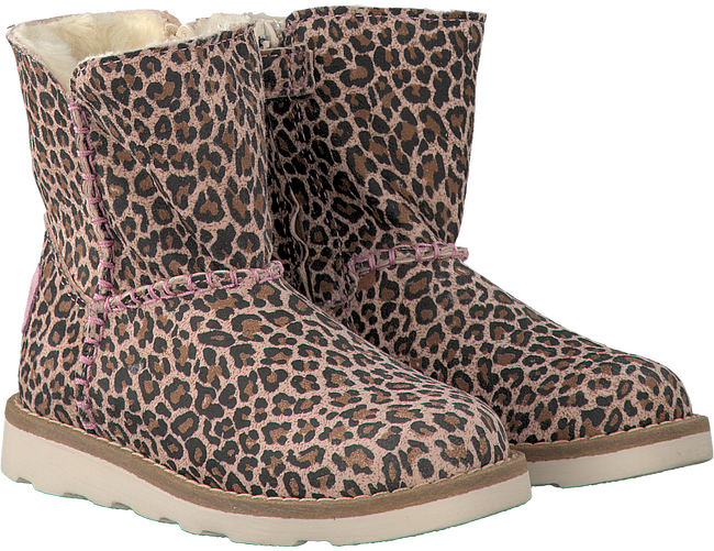 Pink PINOCCHIO Fur boots P2402 - large