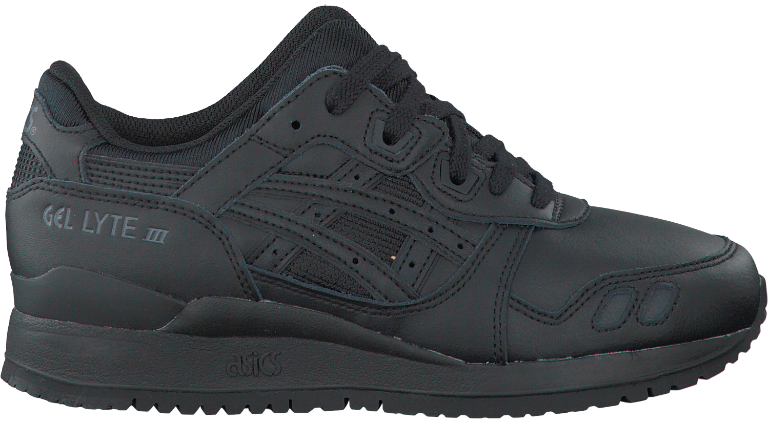 Black ASICS TIGER Sneakers GEL LYTE III DAMES - Omoda.com
