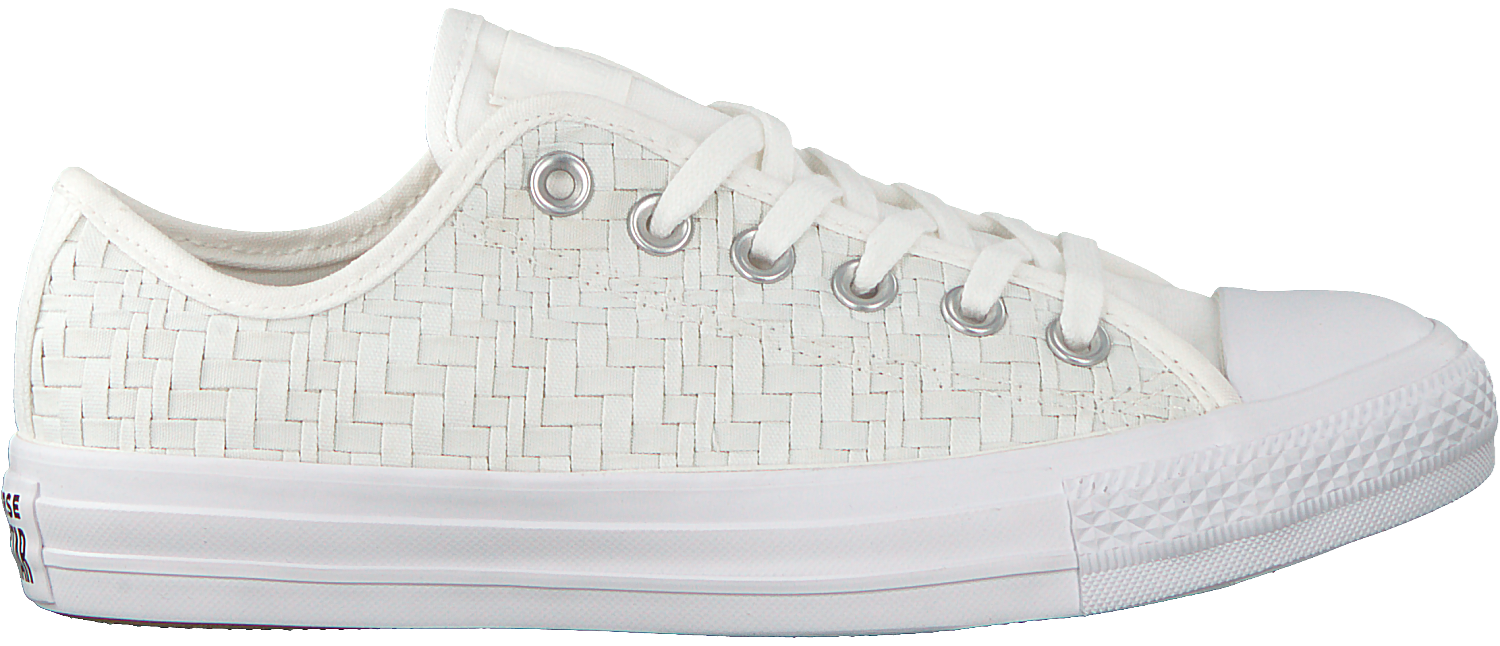 White CONVERSE Sneakers CHUCK TAYLOR ALL STAR OX DAMES ...