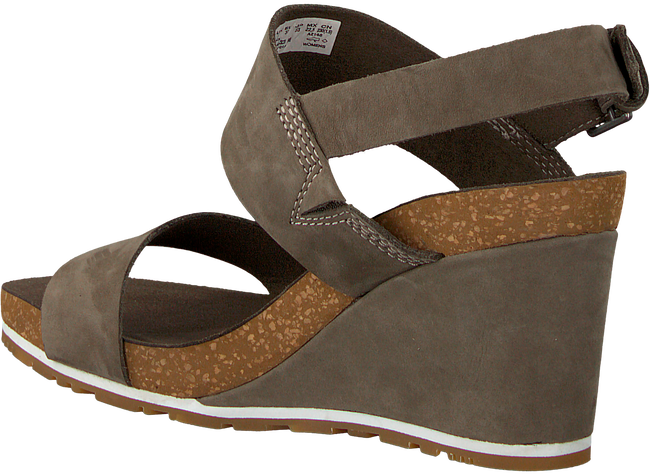Green TIMBERLAND Sandals CAPRI SUNSET WEDGE - large
