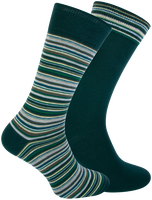 Green MARCMARCS Socks DION COTTON 2-PACK  - medium