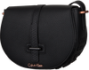 Black CALVIN KLEIN Shoulder bag POPPY SADDLE BAG - small