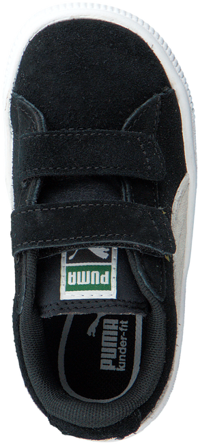 Black PUMA Sneakers SUEDE 2 STRAPS - large