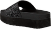 Black THE WHITE BRAND Flip flops HIGH BEACH - small