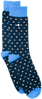 Blue Alfredo Gonzales Socks POLKA DOTS  - medium