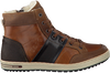 Cognac BJORN BORG Ankle boots CHARLES HIGH POP - small