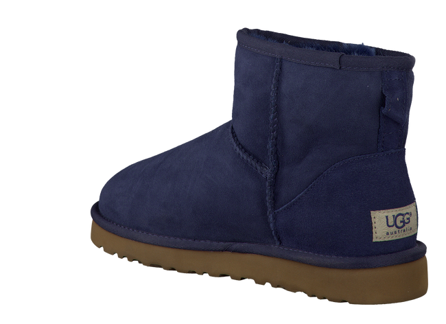 Blue UGG Fur boots CLASSIC MINI - large