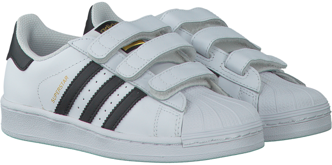 White ADIDAS Sneakers SUPERSTAR FOUNDATION - large