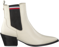 White TOMMY HILFIGER Booties CORPORATE FLAT  - medium