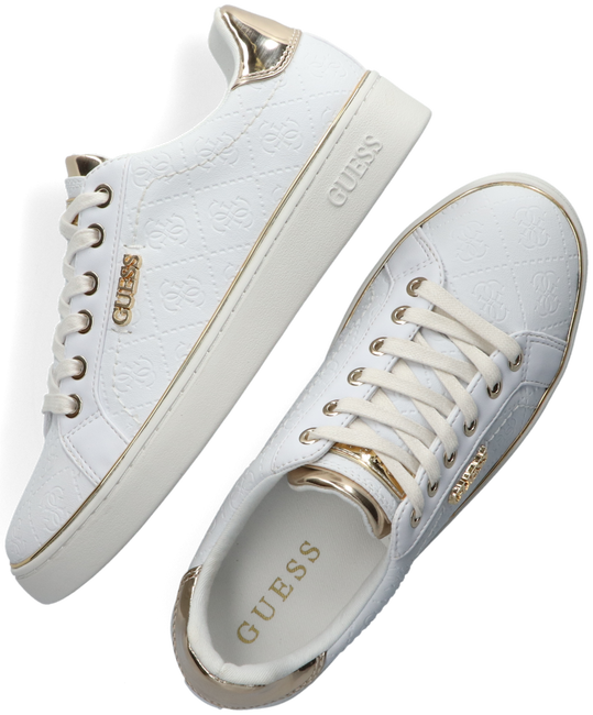 White GUESS Sneakers BECKIE  - large