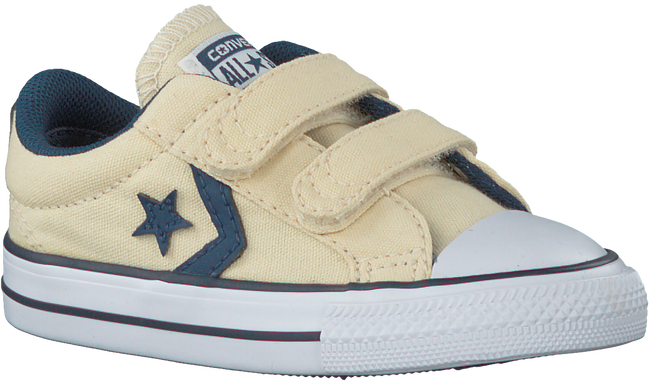 White CONVERSE Sneakers STAR PLAYER 2V OX KIDS - large