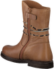 Cognac LITTLE DAVID High boots SAFARI 1 - small