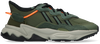 Green ADIDAS Low sneakers OZWEEGO J  - small