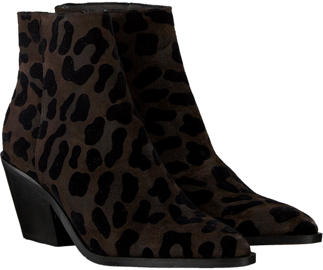 Brown OMODA Booties AG390 WESTEREN LAST  - large