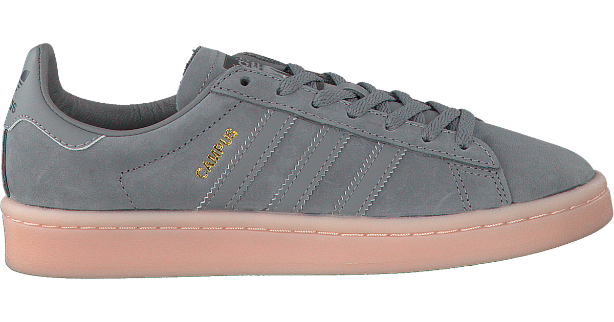 grey adidas sneakers campus dames - Omoda