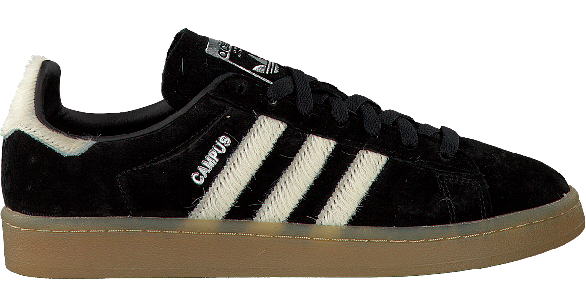 black adidas sneakers campus dames - Omoda
